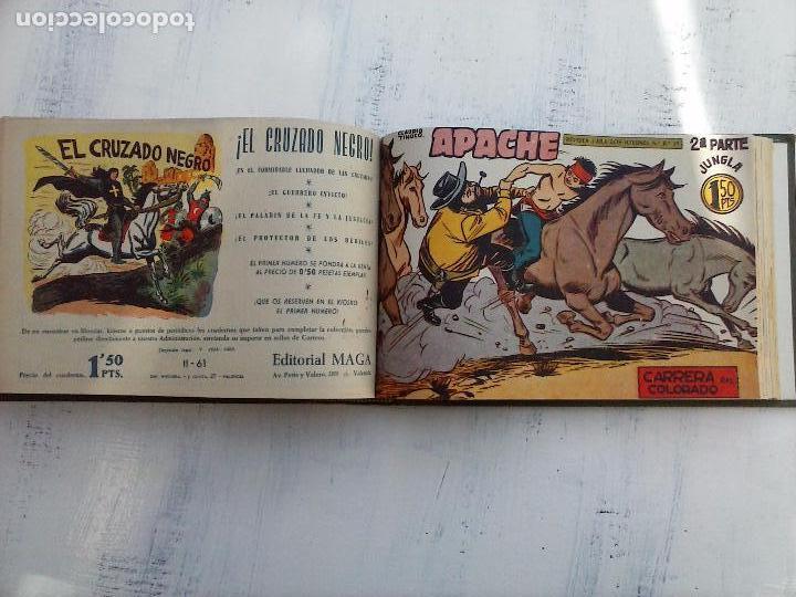 Tebeos: APACHE 2ª SERIE ORIGINAL COMPLETA 1 AL 76 - 1958 EXCELENTE ESTADO, VER IMAGENES - Foto 51 - 108097779