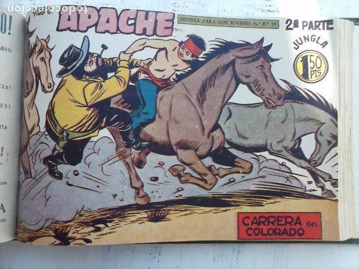 Tebeos: APACHE 2ª SERIE ORIGINAL COMPLETA 1 AL 76 - 1958 EXCELENTE ESTADO, VER IMAGENES - Foto 52 - 108097779