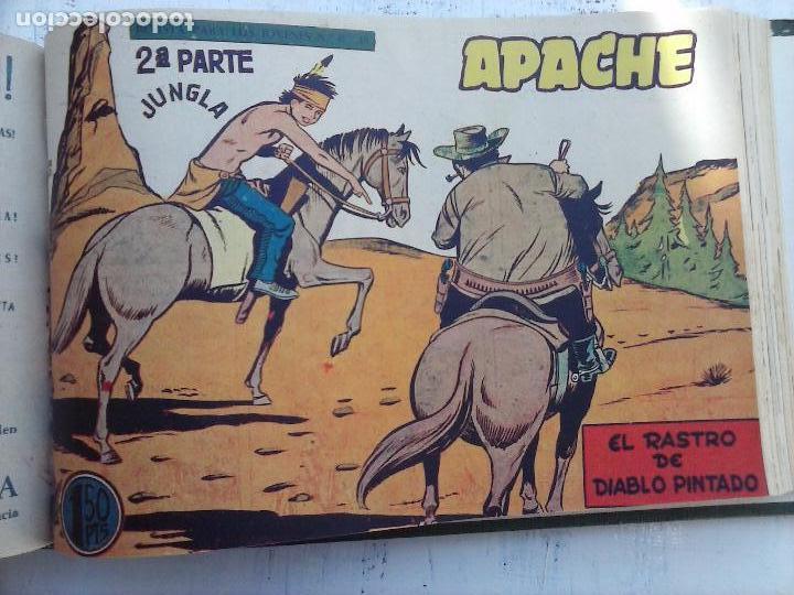 Tebeos: APACHE 2ª SERIE ORIGINAL COMPLETA 1 AL 76 - 1958 EXCELENTE ESTADO, VER IMAGENES - Foto 54 - 108097779