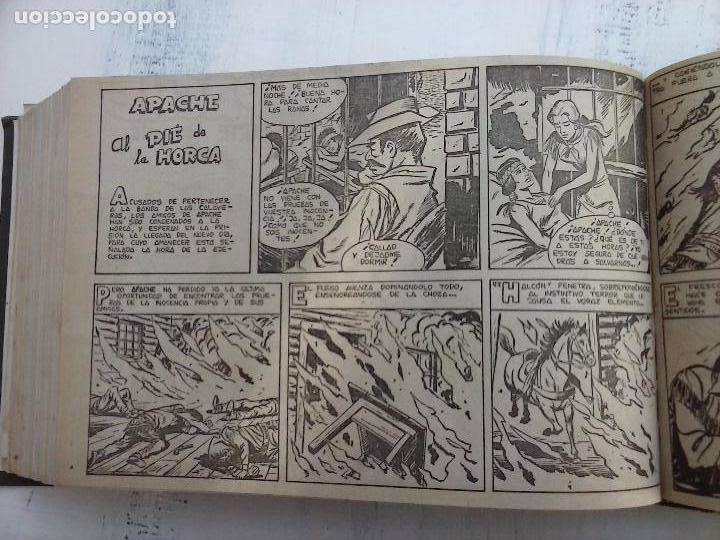Tebeos: APACHE 2ª SERIE ORIGINAL COMPLETA 1 AL 76 - 1958 EXCELENTE ESTADO, VER IMAGENES - Foto 56 - 108097779
