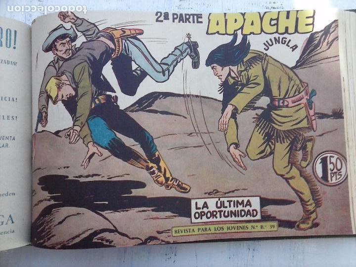 Tebeos: APACHE 2ª SERIE ORIGINAL COMPLETA 1 AL 76 - 1958 EXCELENTE ESTADO, VER IMAGENES - Foto 59 - 108097779