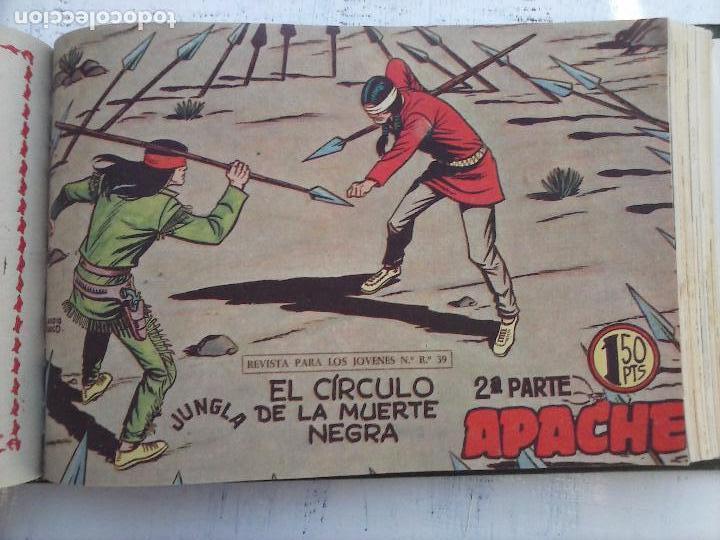 Tebeos: APACHE 2ª SERIE ORIGINAL COMPLETA 1 AL 76 - 1958 EXCELENTE ESTADO, VER IMAGENES - Foto 68 - 108097779