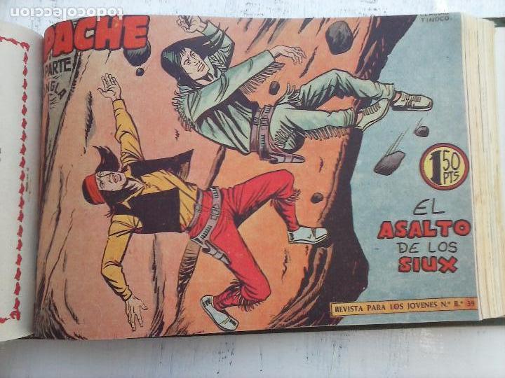 Tebeos: APACHE 2ª SERIE ORIGINAL COMPLETA 1 AL 76 - 1958 EXCELENTE ESTADO, VER IMAGENES - Foto 69 - 108097779