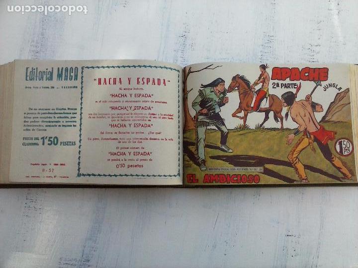 Tebeos: APACHE 2ª SERIE ORIGINAL COMPLETA 1 AL 76 - 1958 EXCELENTE ESTADO, VER IMAGENES - Foto 71 - 108097779