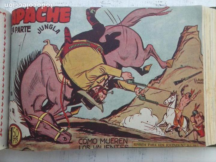 Tebeos: APACHE 2ª SERIE ORIGINAL COMPLETA 1 AL 76 - 1958 EXCELENTE ESTADO, VER IMAGENES - Foto 73 - 108097779