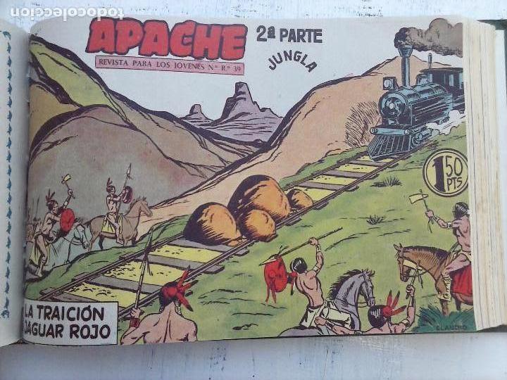 Tebeos: APACHE 2ª SERIE ORIGINAL COMPLETA 1 AL 76 - 1958 EXCELENTE ESTADO, VER IMAGENES - Foto 74 - 108097779