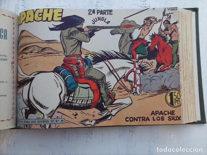 Tebeos: APACHE 2ª SERIE ORIGINAL COMPLETA 1 AL 76 - 1958 EXCELENTE ESTADO, VER IMAGENES - Foto 75 - 108097779