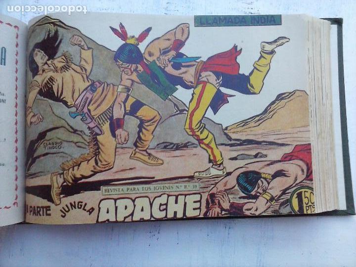 Tebeos: APACHE 2ª SERIE ORIGINAL COMPLETA 1 AL 76 - 1958 EXCELENTE ESTADO, VER IMAGENES - Foto 77 - 108097779