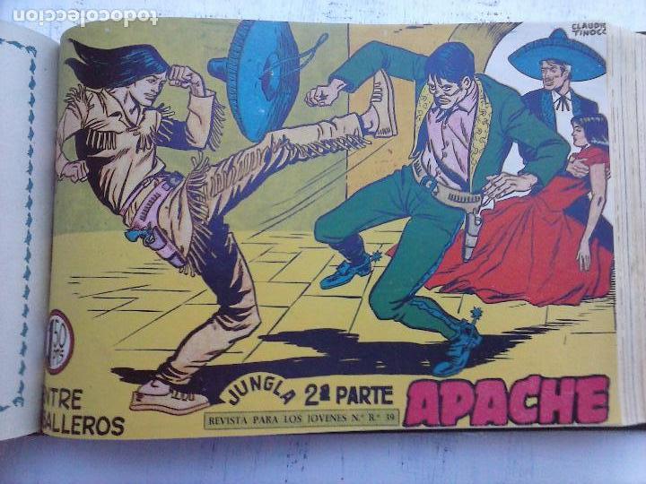 Tebeos: APACHE 2ª SERIE ORIGINAL COMPLETA 1 AL 76 - 1958 EXCELENTE ESTADO, VER IMAGENES - Foto 78 - 108097779