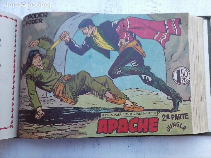 Tebeos: APACHE 2ª SERIE ORIGINAL COMPLETA 1 AL 76 - 1958 EXCELENTE ESTADO, VER IMAGENES - Foto 80 - 108097779