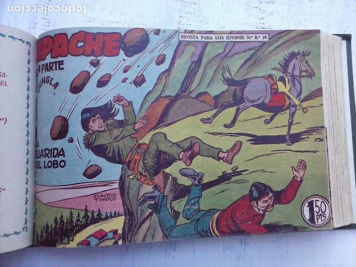 Tebeos: APACHE 2ª SERIE ORIGINAL COMPLETA 1 AL 76 - 1958 EXCELENTE ESTADO, VER IMAGENES - Foto 84 - 108097779