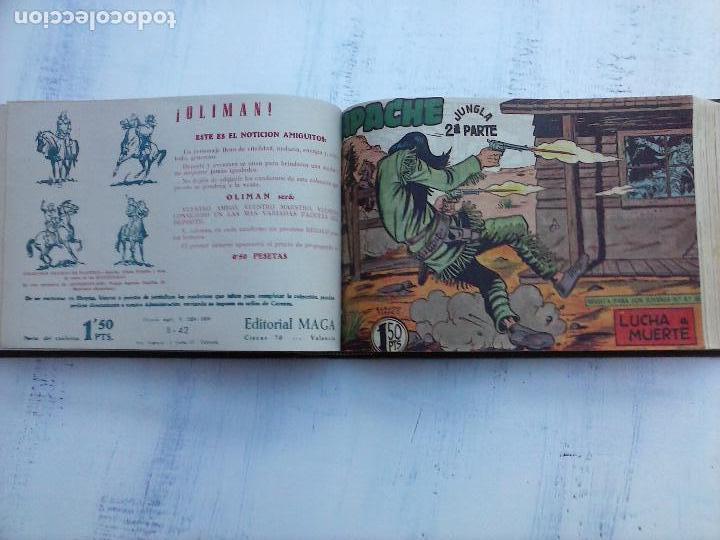 Tebeos: APACHE 2ª SERIE ORIGINAL COMPLETA 1 AL 76 - 1958 EXCELENTE ESTADO, VER IMAGENES - Foto 88 - 108097779