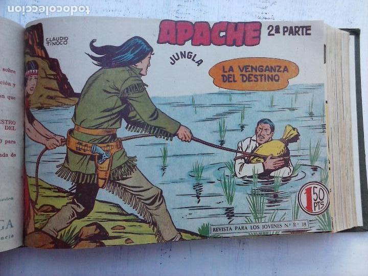 Tebeos: APACHE 2ª SERIE ORIGINAL COMPLETA 1 AL 76 - 1958 EXCELENTE ESTADO, VER IMAGENES - Foto 91 - 108097779