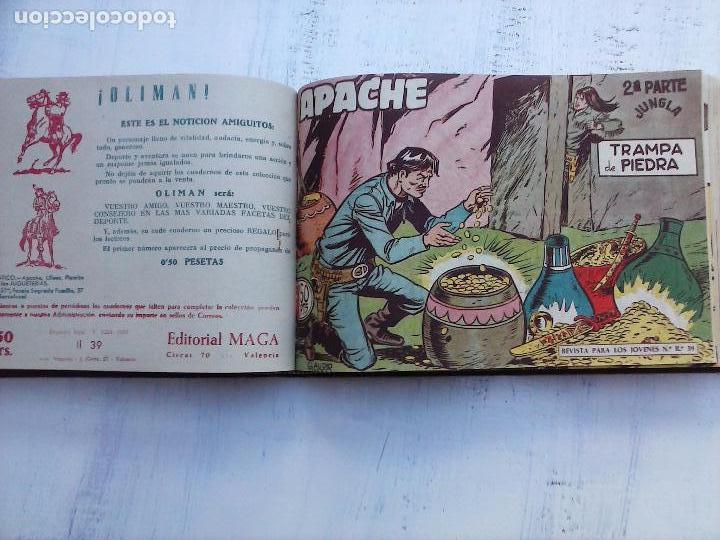 Tebeos: APACHE 2ª SERIE ORIGINAL COMPLETA 1 AL 76 - 1958 EXCELENTE ESTADO, VER IMAGENES - Foto 94 - 108097779