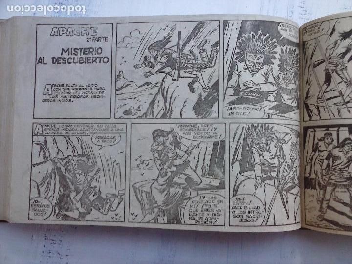 Tebeos: APACHE 2ª SERIE ORIGINAL COMPLETA 1 AL 76 - 1958 EXCELENTE ESTADO, VER IMAGENES - Foto 96 - 108097779