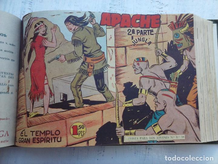 Tebeos: APACHE 2ª SERIE ORIGINAL COMPLETA 1 AL 76 - 1958 EXCELENTE ESTADO, VER IMAGENES - Foto 98 - 108097779