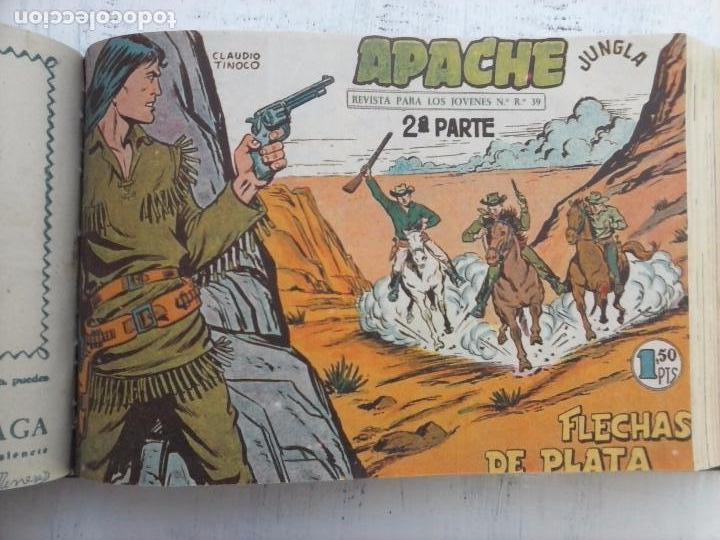 Tebeos: APACHE 2ª SERIE ORIGINAL COMPLETA 1 AL 76 - 1958 EXCELENTE ESTADO, VER IMAGENES - Foto 99 - 108097779
