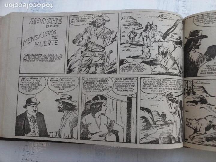 Tebeos: APACHE 2ª SERIE ORIGINAL COMPLETA 1 AL 76 - 1958 EXCELENTE ESTADO, VER IMAGENES - Foto 101 - 108097779