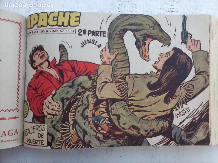Tebeos: APACHE 2ª SERIE ORIGINAL COMPLETA 1 AL 76 - 1958 EXCELENTE ESTADO, VER IMAGENES - Foto 102 - 108097779