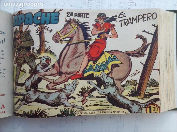 Tebeos: APACHE 2ª SERIE ORIGINAL COMPLETA 1 AL 76 - 1958 EXCELENTE ESTADO, VER IMAGENES - Foto 103 - 108097779