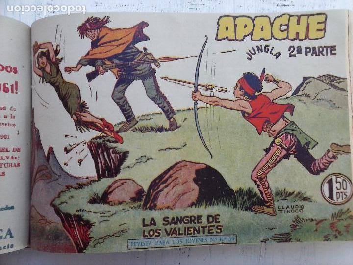 Tebeos: APACHE 2ª SERIE ORIGINAL COMPLETA 1 AL 76 - 1958 EXCELENTE ESTADO, VER IMAGENES - Foto 104 - 108097779