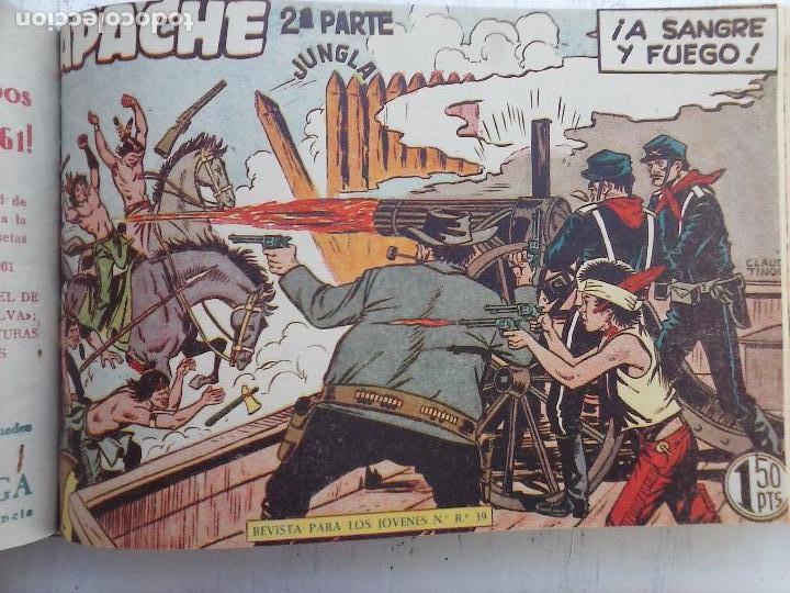 Tebeos: APACHE 2ª SERIE ORIGINAL COMPLETA 1 AL 76 - 1958 EXCELENTE ESTADO, VER IMAGENES - Foto 106 - 108097779