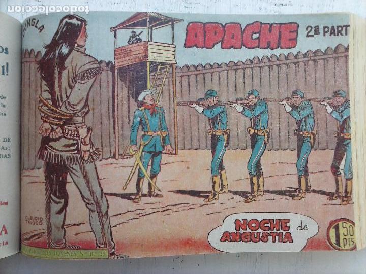 Tebeos: APACHE 2ª SERIE ORIGINAL COMPLETA 1 AL 76 - 1958 EXCELENTE ESTADO, VER IMAGENES - Foto 108 - 108097779