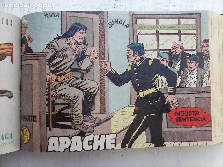 Tebeos: APACHE 2ª SERIE ORIGINAL COMPLETA 1 AL 76 - 1958 EXCELENTE ESTADO, VER IMAGENES - Foto 109 - 108097779