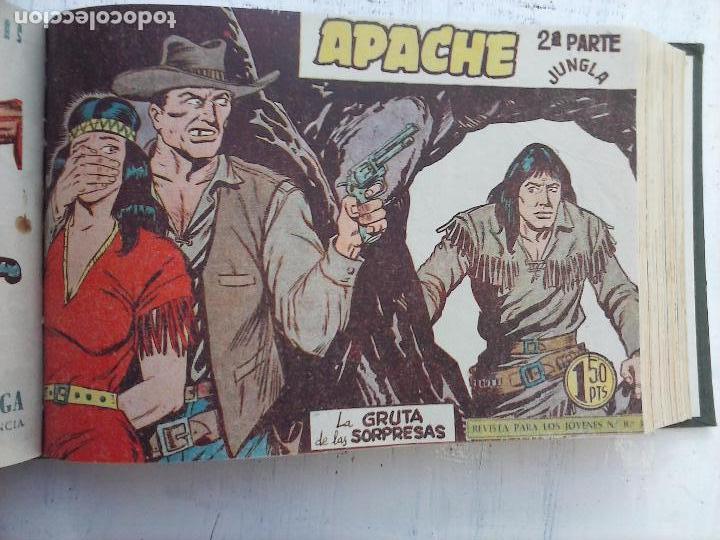 Tebeos: APACHE 2ª SERIE ORIGINAL COMPLETA 1 AL 76 - 1958 EXCELENTE ESTADO, VER IMAGENES - Foto 110 - 108097779