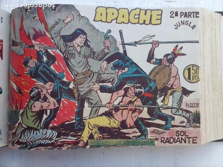 Tebeos: APACHE 2ª SERIE ORIGINAL COMPLETA 1 AL 76 - 1958 EXCELENTE ESTADO, VER IMAGENES - Foto 112 - 108097779