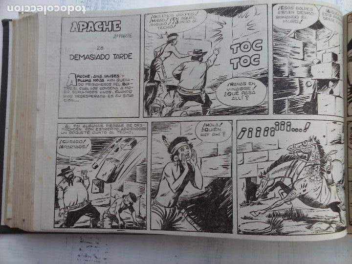 Tebeos: APACHE 2ª SERIE ORIGINAL COMPLETA 1 AL 76 - 1958 EXCELENTE ESTADO, VER IMAGENES - Foto 114 - 108097779