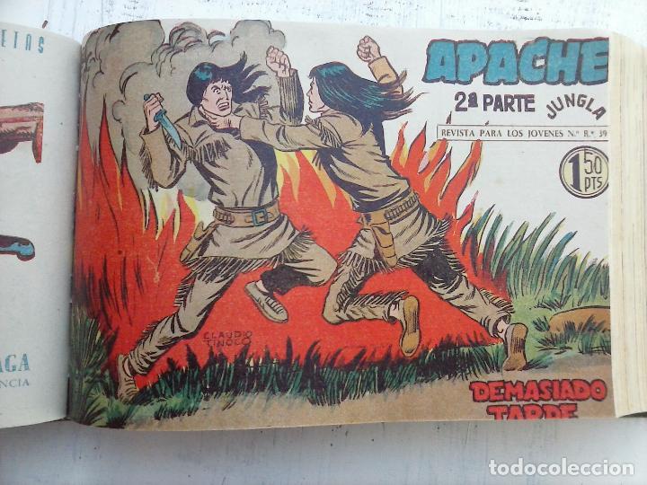 Tebeos: APACHE 2ª SERIE ORIGINAL COMPLETA 1 AL 76 - 1958 EXCELENTE ESTADO, VER IMAGENES - Foto 116 - 108097779
