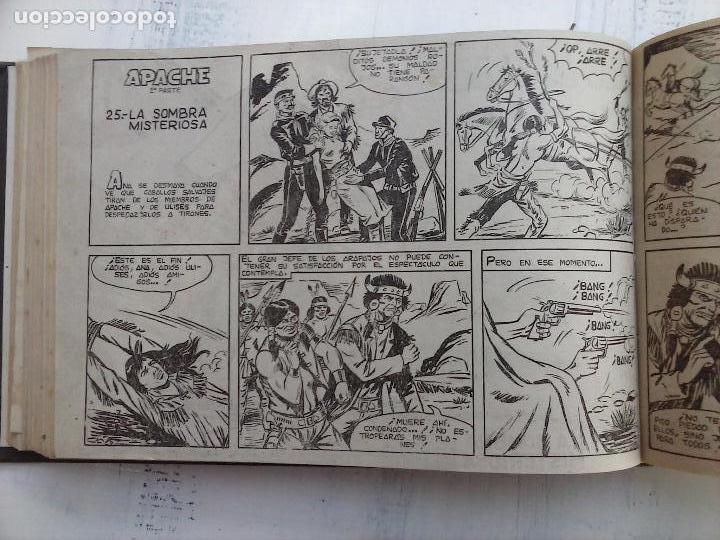 Tebeos: APACHE 2ª SERIE ORIGINAL COMPLETA 1 AL 76 - 1958 EXCELENTE ESTADO, VER IMAGENES - Foto 120 - 108097779