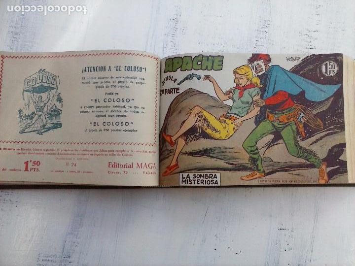 Tebeos: APACHE 2ª SERIE ORIGINAL COMPLETA 1 AL 76 - 1958 EXCELENTE ESTADO, VER IMAGENES - Foto 121 - 108097779