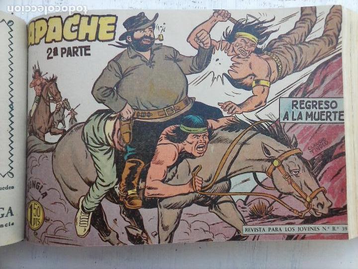 Tebeos: APACHE 2ª SERIE ORIGINAL COMPLETA 1 AL 76 - 1958 EXCELENTE ESTADO, VER IMAGENES - Foto 123 - 108097779