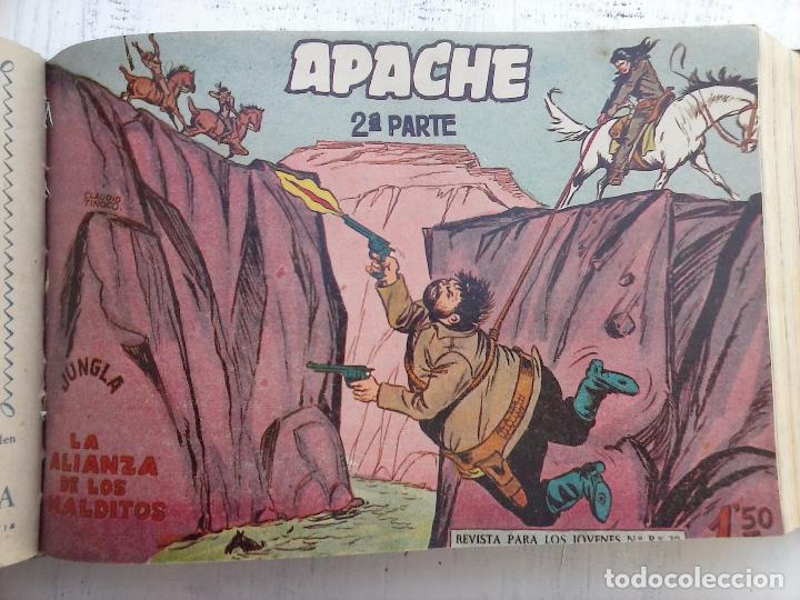 Tebeos: APACHE 2ª SERIE ORIGINAL COMPLETA 1 AL 76 - 1958 EXCELENTE ESTADO, VER IMAGENES - Foto 124 - 108097779