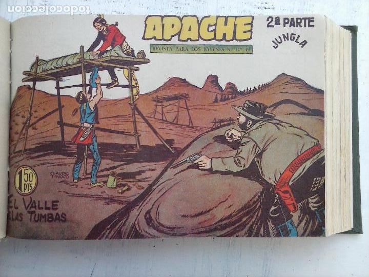 Tebeos: APACHE 2ª SERIE ORIGINAL COMPLETA 1 AL 76 - 1958 EXCELENTE ESTADO, VER IMAGENES - Foto 125 - 108097779