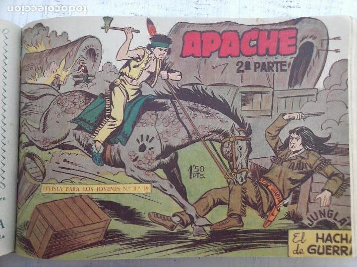 Tebeos: APACHE 2ª SERIE ORIGINAL COMPLETA 1 AL 76 - 1958 EXCELENTE ESTADO, VER IMAGENES - Foto 126 - 108097779
