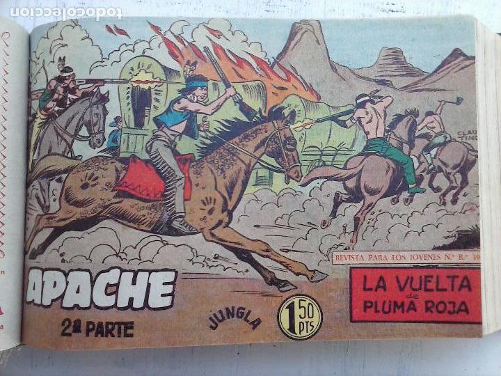 Tebeos: APACHE 2ª SERIE ORIGINAL COMPLETA 1 AL 76 - 1958 EXCELENTE ESTADO, VER IMAGENES - Foto 128 - 108097779