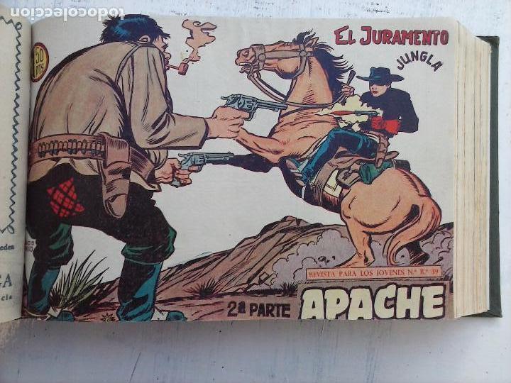 Tebeos: APACHE 2ª SERIE ORIGINAL COMPLETA 1 AL 76 - 1958 EXCELENTE ESTADO, VER IMAGENES - Foto 129 - 108097779
