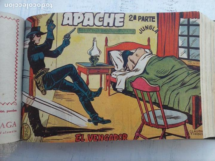 Tebeos: APACHE 2ª SERIE ORIGINAL COMPLETA 1 AL 76 - 1958 EXCELENTE ESTADO, VER IMAGENES - Foto 130 - 108097779