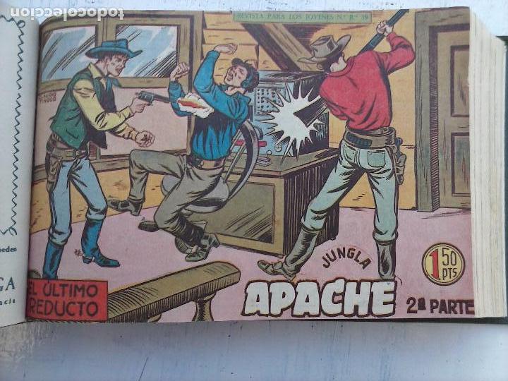 Tebeos: APACHE 2ª SERIE ORIGINAL COMPLETA 1 AL 76 - 1958 EXCELENTE ESTADO, VER IMAGENES - Foto 131 - 108097779