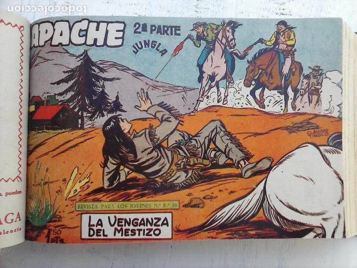 Tebeos: APACHE 2ª SERIE ORIGINAL COMPLETA 1 AL 76 - 1958 EXCELENTE ESTADO, VER IMAGENES - Foto 132 - 108097779