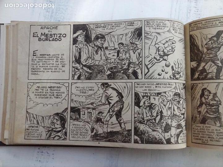 Tebeos: APACHE 2ª SERIE ORIGINAL COMPLETA 1 AL 76 - 1958 EXCELENTE ESTADO, VER IMAGENES - Foto 133 - 108097779