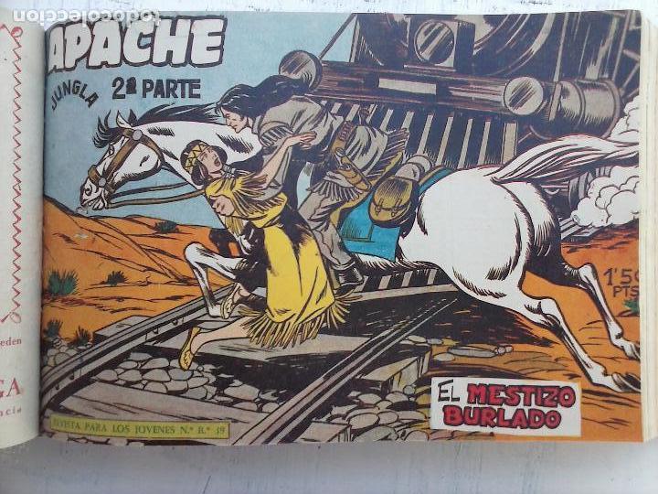Tebeos: APACHE 2ª SERIE ORIGINAL COMPLETA 1 AL 76 - 1958 EXCELENTE ESTADO, VER IMAGENES - Foto 134 - 108097779