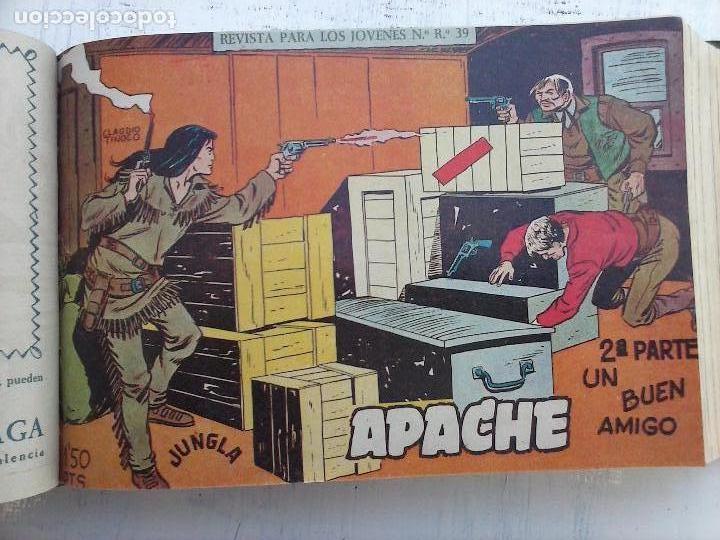 Tebeos: APACHE 2ª SERIE ORIGINAL COMPLETA 1 AL 76 - 1958 EXCELENTE ESTADO, VER IMAGENES - Foto 135 - 108097779