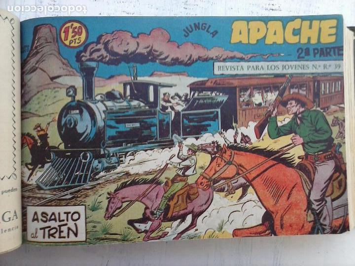 Tebeos: APACHE 2ª SERIE ORIGINAL COMPLETA 1 AL 76 - 1958 EXCELENTE ESTADO, VER IMAGENES - Foto 136 - 108097779