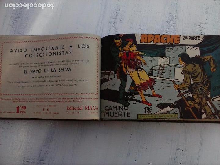 Tebeos: APACHE 2ª SERIE ORIGINAL COMPLETA 1 AL 76 - 1958 EXCELENTE ESTADO, VER IMAGENES - Foto 137 - 108097779