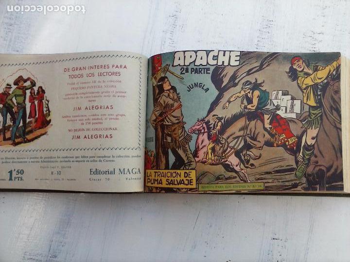 Tebeos: APACHE 2ª SERIE ORIGINAL COMPLETA 1 AL 76 - 1958 EXCELENTE ESTADO, VER IMAGENES - Foto 138 - 108097779