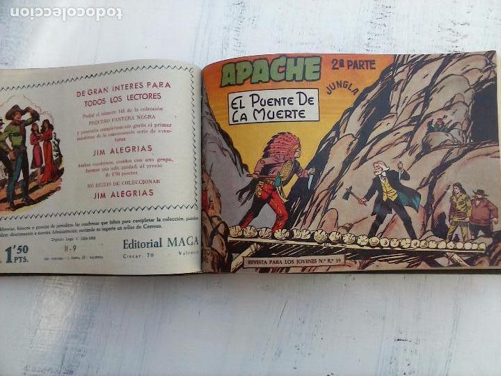 Tebeos: APACHE 2ª SERIE ORIGINAL COMPLETA 1 AL 76 - 1958 EXCELENTE ESTADO, VER IMAGENES - Foto 139 - 108097779